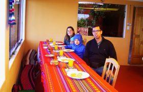Breakfast, Amantani Island - Peru