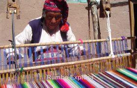 Weaving loom, Taquile Island - Peru (2)