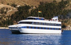 Catamaran Cruise Ship - Lake Titicaca