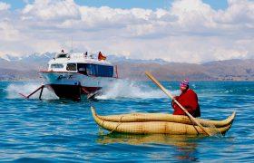 Hydrofoil, Isla del Sol - Bolivia