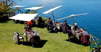 Restaurant Isla del Sol - Lake Titicaca