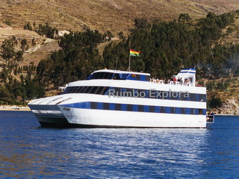 Catamaran Cruise, Lake Titicaca - Peru